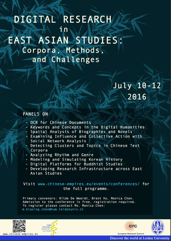 digital research in east asian studies