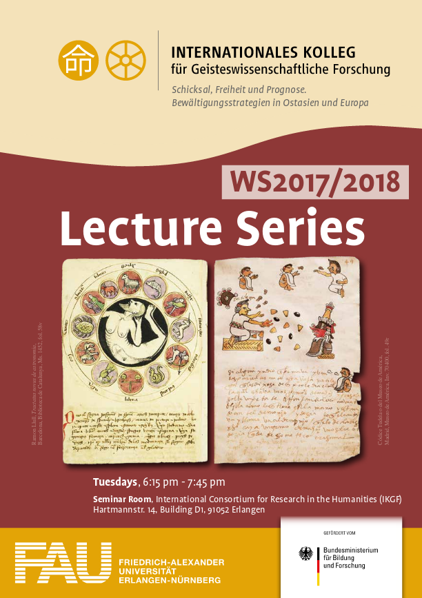 Lecture Series: Winter Semester 2017-18 – International Consortium for Research in the Humanities IKGF