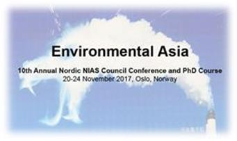 10th Annual Nordic NIAS Council Conference Environmental Asia