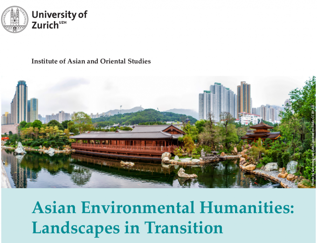 "Free UZH Online Course on the Learning Platform coursera.org ""Asian Environmental Humanities: Landscapes in Transition"""