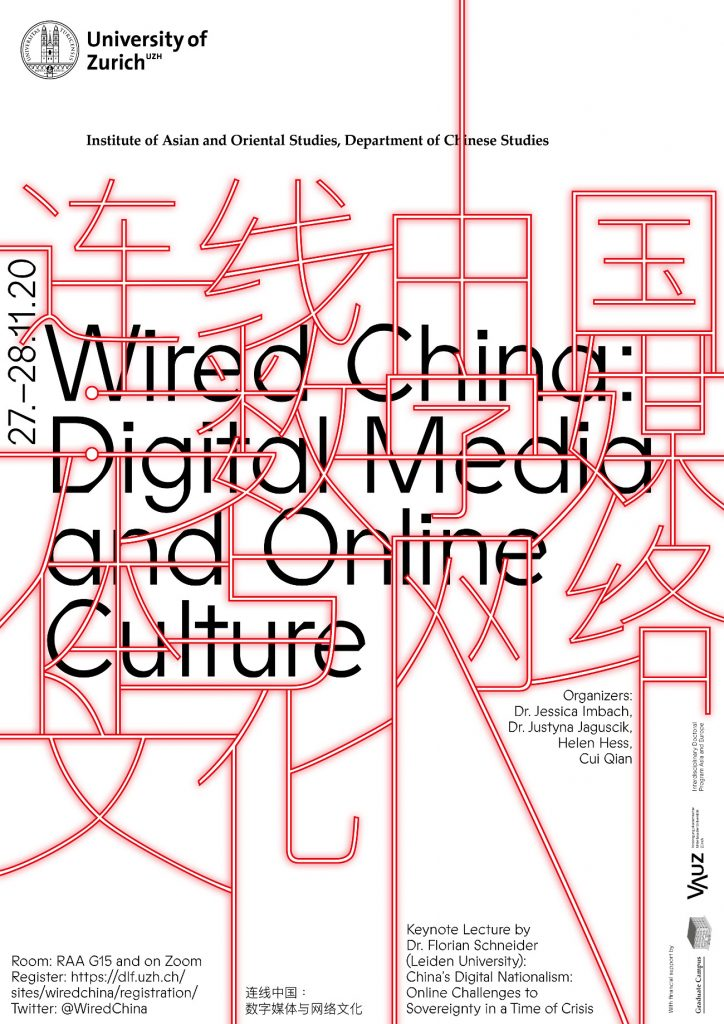 "Upcoming online Workshop – ""Wired China: Digital Media and Online Culture"""