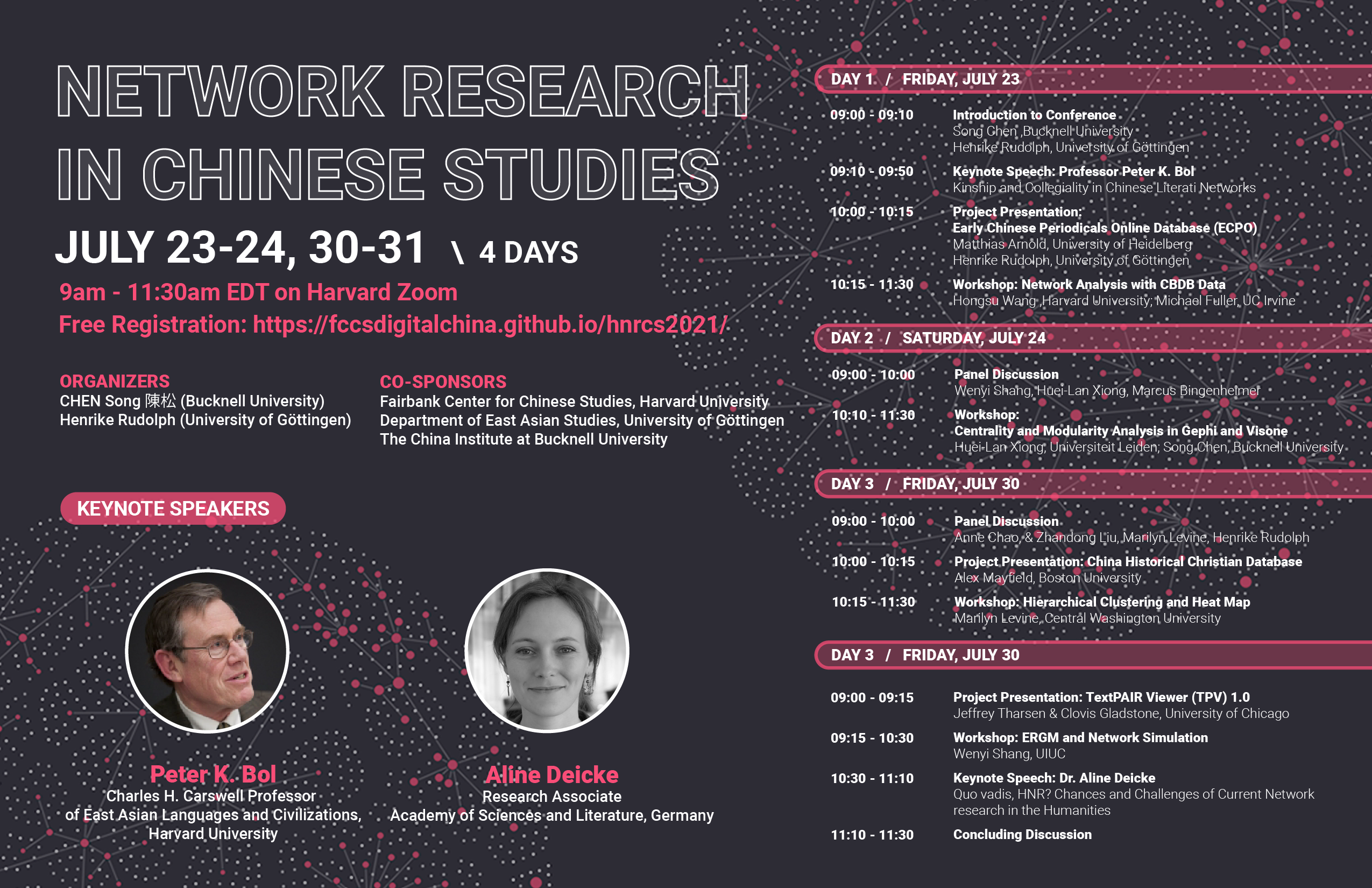 """Upcoming Conference: """"Historical Network Research in Chinese Studies"""""""
